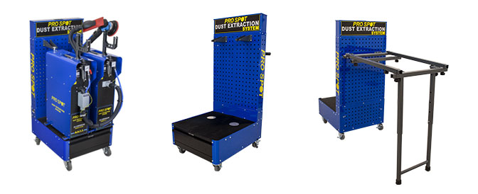 Photo of the Dust Free Sanding System Mobile Cart