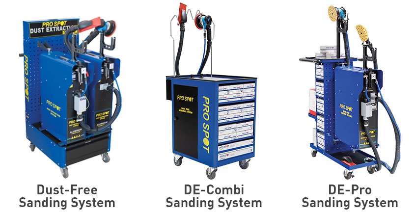 Dust-Free Sanding Systems