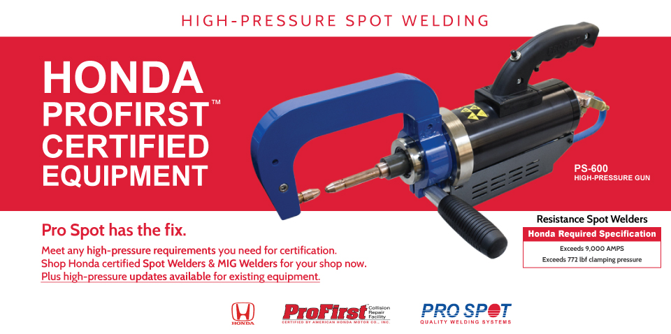Pro Spot International Quality Welding Systems, Leading the