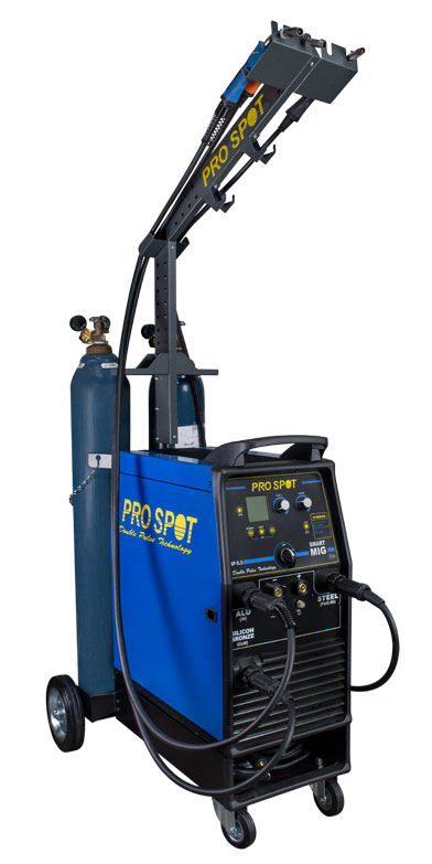 SP-5.3 | 3 Phase SMART Double Pulse MIG Welder