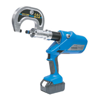 Photo of Henrob Conversion Kit on the PR-5 Rivet Gun.