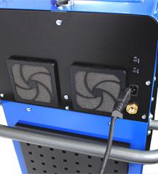 batteries from the PHS-101 hybrid battery welder