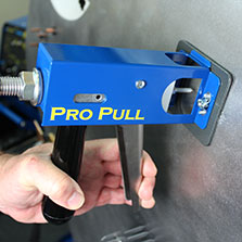 how to use a spot weld dent puller