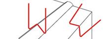 HSW-200 w-Style Staple application illustration